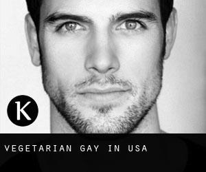 Vegetarian Gay in USA